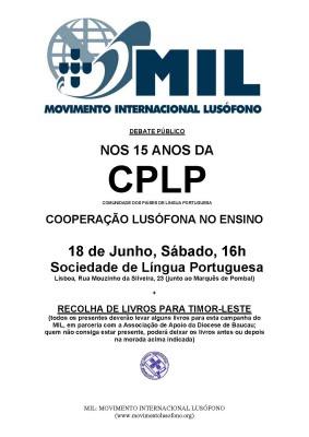 Debate MIL: Cooperação Lusófona no Ensino