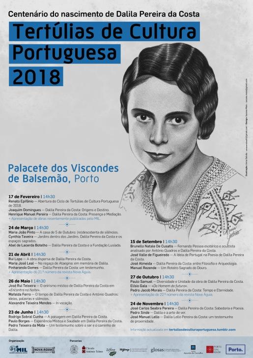 Tertúlias de Cultura Portuguesa (2018) - WEB