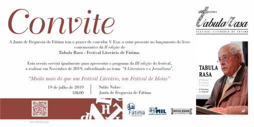 convite apresentação Tabula Rasa